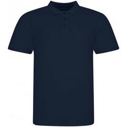 textil Herr Kortärmade pikétröjor Awdis JP100 Oxford Navy
