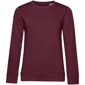 textil Dam Sweatshirts B&c WW32B Bourgogne