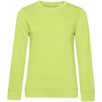 textil Dam Sweatshirts B&c WW32B Lime Green