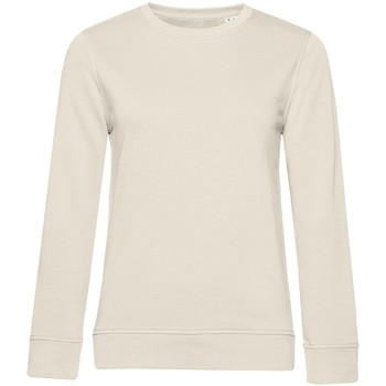 textil Dam Sweatshirts B&c WW32B Off White