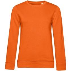 textil Dam Sweatshirts B&c WW32B Orange