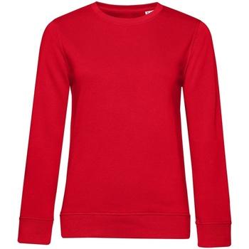 textil Dam Sweatshirts B&c WW32B Röd