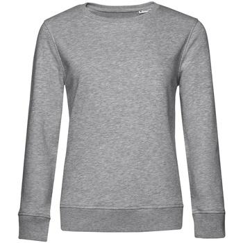 textil Dam Sweatshirts B&c WW32B Grått ljung