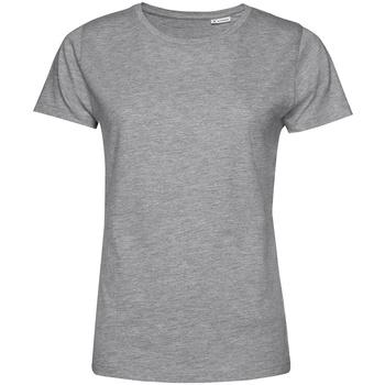 textil Dam T-shirts B&c TW02B Grått ljung