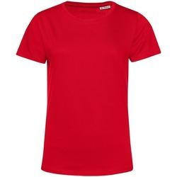 textil Dam T-shirts B&c TW02B Röd