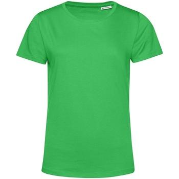 textil Dam T-shirts B&c TW02B Äppelgrönt
