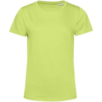textil Dam T-shirts B&c TW02B Lime Green