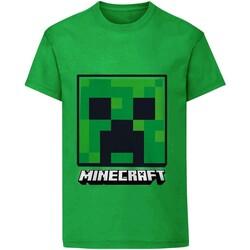 textil Barn T-shirts Minecraft  Grön