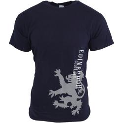 textil Herr T-shirts Universal Textiles  Marinblått