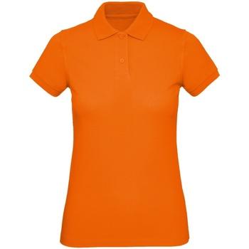 textil Herr Kortärmade pikétröjor B And C PM430 Orange