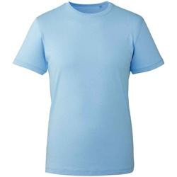 textil T-shirts Anthem AM10 Ljusblå