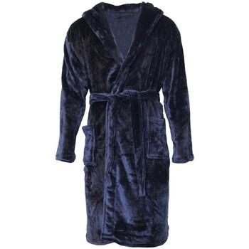 textil Herr Pyjamas/nattlinne Pierre Roche  Marinblått