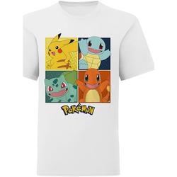 textil Barn T-shirts & Pikétröjor Pokemon  Vit