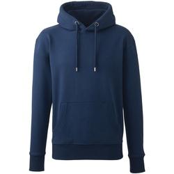 textil Herr Sweatshirts Anthem AM01 Marinblått