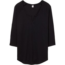 textil Dam T-shirts & Pikétröjor Alternative Apparel AT008 Svart