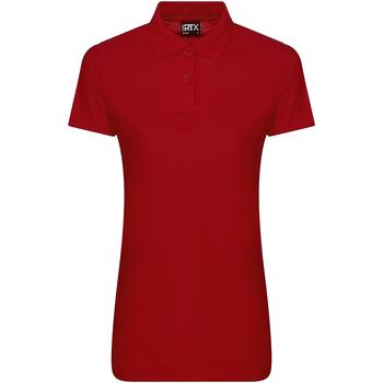 textil Dam Kortärmade pikétröjor Pro Rtx RX105F Röd