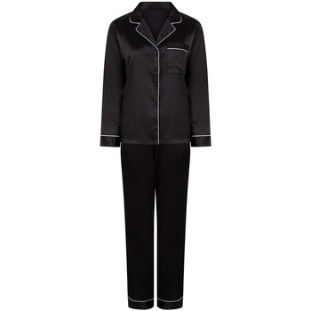 textil Dam Pyjamas/nattlinne Towel City TC55 Svart