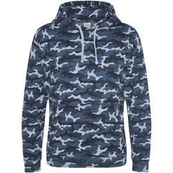 textil Herr Sweatshirts Awdis JH014 Blå kamouflage