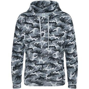 textil Herr Sweatshirts Awdis JH014 Grå kamouflage