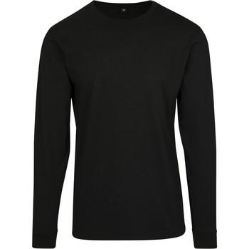 textil Herr Sweatshirts Build Your Brand BY091 Svart