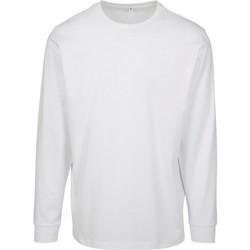 textil Herr Sweatshirts Build Your Brand BY091 Vit