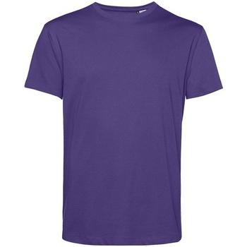 textil Herr T-shirts B&c BA212 Strålande lila