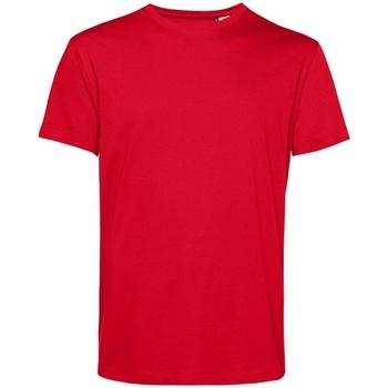 textil Herr T-shirts B&c BA212 Röd
