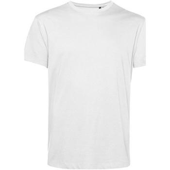 textil Herr T-shirts B&c BA212 Vit