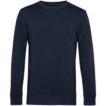 textil Herr Sweatshirts B&c WU31B Marinblått