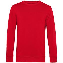 textil Herr Sweatshirts B&c WU31B Röd