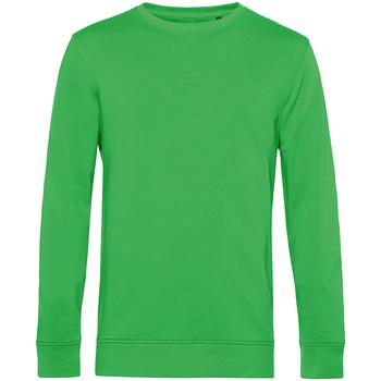 textil Herr Sweatshirts B&c WU31B Äppelgrönt