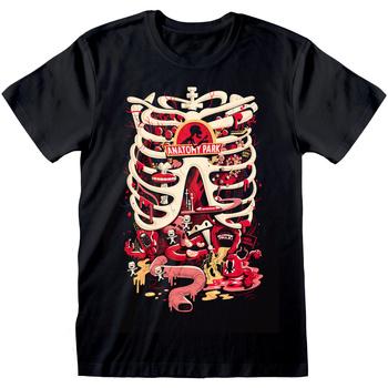 textil T-shirts Rick And Morty  Svart