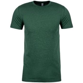textil T-shirts Next Level NX6410 Heather Forest Green
