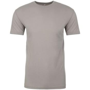 textil T-shirts Next Level NX6410 Ljusgrå