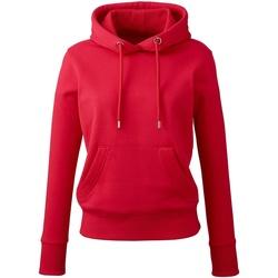 textil Dam Sweatshirts Anthem AM03 Röd