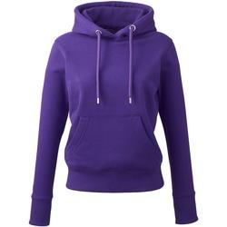 textil Dam Sweatshirts Anthem AM03 Lila