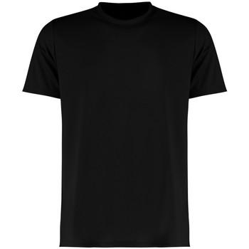 textil Herr T-shirts Kustom Kit KK555 Svart