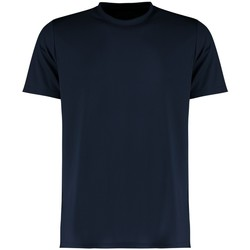 textil Herr T-shirts Kustom Kit KK555 Marinblått