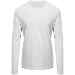 textil Långärmade T-shirts Awdis EA021 Arctic White