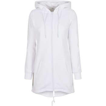 textil Dam Sweatshirts Build Your Brand BY148 Vit