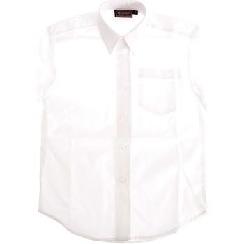 textil Pojkar T-shirts & Pikétröjor Universal Textiles  Vit