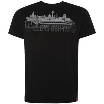 textil Herr T-shirts Liverpool Fc  Svart