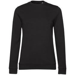 textil Dam Sweatshirts B&c WW02W Svart