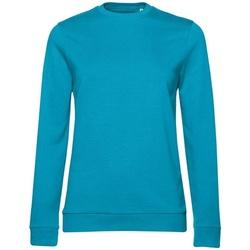 textil Dam Sweatshirts B&c WW02W Bermuda blå