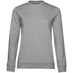 textil Dam Sweatshirts B&c WW02W Grått ljung