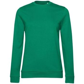 textil Dam Sweatshirts B&c WW02W Kelly Green