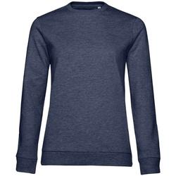 textil Dam Sweatshirts B&c WW02W Marinblått ljung