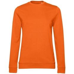 textil Dam Sweatshirts B&c WW02W Orange