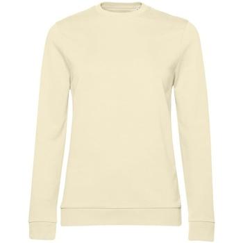 textil Dam Sweatshirts B&c WW02W Blekgult