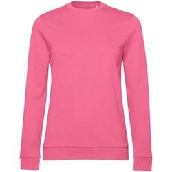 textil Dam Sweatshirts B&c WW02W Rosa